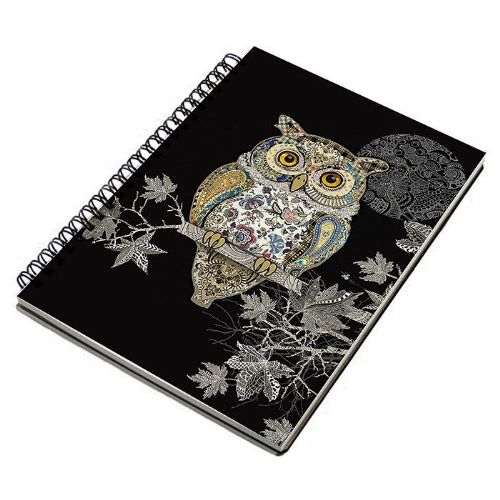 Bug Art Collection Owl A5 Notebook Pad